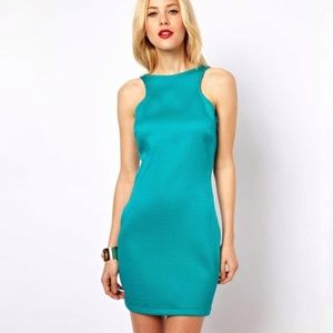 4/$25 Mango Textured Bodycon Dress with Side Zip